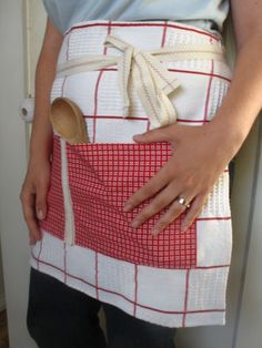 continuation of dish towel aprons