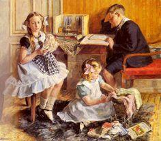 Gad Frederik Clement, Children's Pastimes
