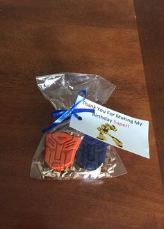 Transformers Party Favors, Transformers Birthday, Superhero Party Favors, Transformers Crayons by CraZCrayons on Etsy https://www.etsy.com/listing/506853586/transformers-party-favors-transformers