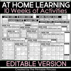 Kindergarten Activities, Learning Activities, Educational Activities, Preschool, Classroom Websites, Classroom Ideas, Google Classroom, Number Line Activities, Emergency Sub Plans