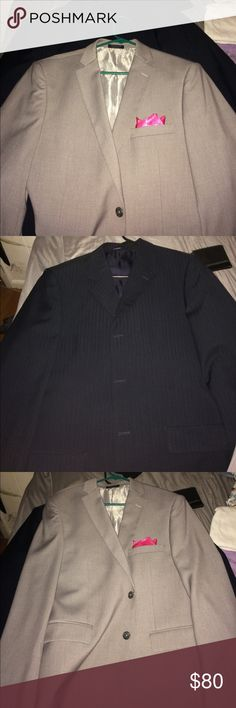 bundle of blazers; great for prom Great condition for the both of them , worn once Adolfo Dominguez Suits & Blazers Sport Coats & Blazers