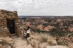 I couldn't get enough the view from the cabin we stayed in at Palo Duro Canyon State Park! #roadesque. From Roadesque.