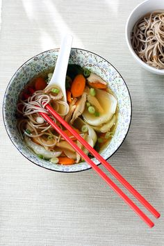 I have been looking for a simple Asian soup. Must try this soon.