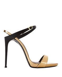 These shoes give me disco fever! Giuseppe Zanotti Coline Colorblock Sandals