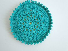 The work on the inside is just lovely. Also love the teal! - this makes me want to learn. . . what?. . . crocheting?  tatting?  what is this??  :)