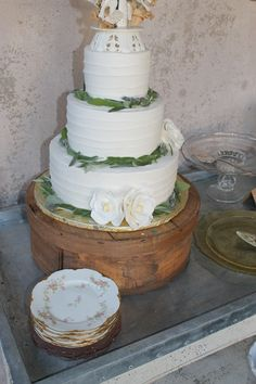 wedding cake on our cheese box