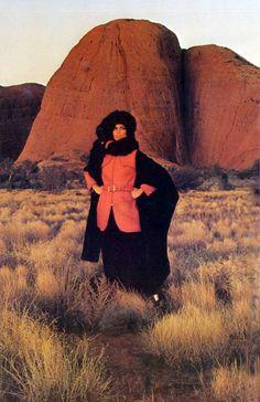 Veruschka by Rubartelli Vogue 1969