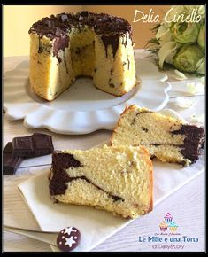 Baking Recipes, Cake Recipes, Dessert Recipes, Torta Chiffon, Sweet Corner, American Cake, Gateaux Cake, Sicilian Recipes, Plum Cake