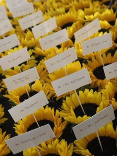 Floral Favors  Send guests home with potted flowers or plants. Add a tag with their names and table numbers so they double as escort cards.