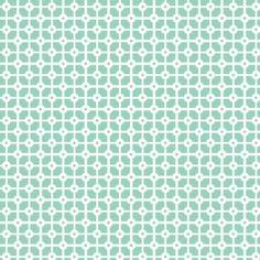 Fleur Harris - Jade Geo Yardage Pattern repeat for Cotton On KIDS