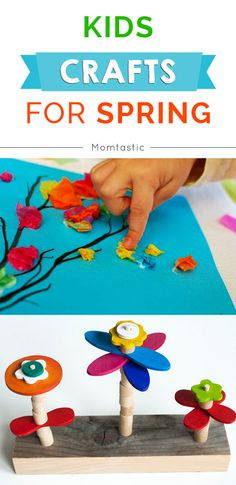 Awesome spring crafts for kids