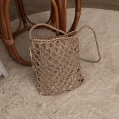 """""""Women's Shoes and Bags Crochet Clutch, Knit Crochet, Crochet Designs, Crochet Patterns, Pouch Pattern, Net Bag, Unique Bags, Kids Bags, Knitted Bags"""