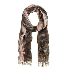 J.Crew - Camo wool scarf. I am going to by one for myself and one for my lady @INDI Design Hooper