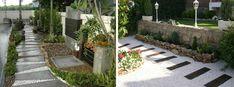 DADA IDEA: Pavaje - alei Stepping Stones, Sidewalk, Landscape, Interior Design, Outdoor Decor, Home Decor, Nest Design, Stair Risers, Scenery