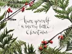 Calligraphy Christmas Carols by Shannon Eileen - Skillshare