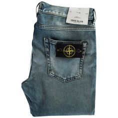 dae3d25e0db STONE ISLAND Light-Wash Skinny Fit Jeans Stone Island Jeans