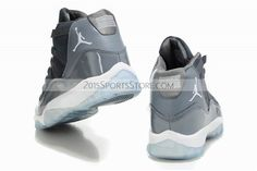 watch 7711b 2e113 For Sale Air Jordan 11 Mens Shoes Fur for Winter Cheap Online Grey New  Releases Cheap