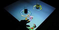 Interactive bar tables