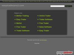 Easy Trader Pro 2