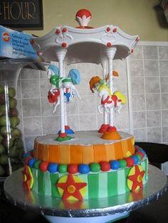Carousel cake!