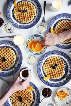 Gluten, Dairy + Sugar Free Vanilla Waffles | Poppytalk