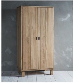 Named after a unique British forest, it's easy to see why when the Hudson Living Kielder Oak Wardrobe utilises stunning solid oak with white hues. Offering natural wood tones, this product would suit a range of interior styles. Furniture, Oak Furniture, Bedroom Wardrobe, Solid Oak Bedroom Furniture, Indoor Furniture, Wood Wardrobe, Reclaimed Wood Furniture, Oak Wardrobe, Wooden Wardrobe