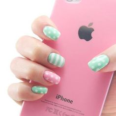 25 Best Polka Dot Nails Images On Pinterest Cute Nails Nail