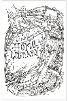Kid Library: Martin Ursell's bookplate #1