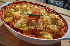 Krémsajtos, csirkemelles rakott spagetti sütőben sütve – recept Chili, Soup, Spagetti, Eat, Drink, Blog, Beverage, Chile, Blogging