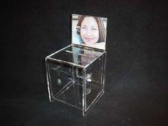 Akrylix - ACRYLIC CHARITY BOX