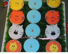 Galletitas con animales. Selva. Jungle cookies http://antonelladipietro.com.ar/blog/2013/01/fiesta-con-animales-de-la-selva/