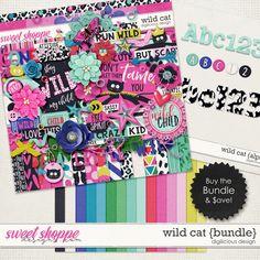 Wild Cat {Bundle} by Digilicious Design