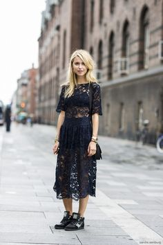 Ideas for lace outfits