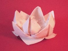 The beautiful yet simple Origami Lotus should be made with thin, yet slightly flexible paper so the petals dont tear in the last step. This design also works...