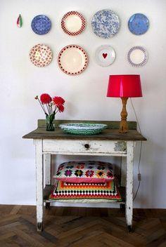 Pratos na parede (2) - Jeito de Casa