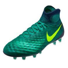 new concept 8dc4e 1175d Nike Magista Obra II FG Soccer Cleats ( Rio Teal Volt Clear Jade)