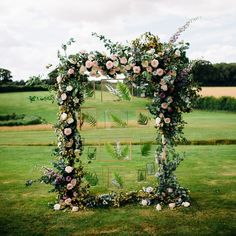 Rock My Wedding: I do take you gorgeous floral arch to be my outdoor ceremony altar 💕 Image by Wedding . Backdrop Decorations, Outdoor Wedding Decorations, Outdoor Wedding Venues, Outdoor Ceremony, Flower Decorations, Backdrop Ideas, Backdrops, Arco Floral, Floral Arch