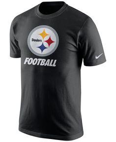 781d5aef9 Nike Men s Pittsburgh Steelers Facility T-Shirt Men - Sports Fan Shop By  Lids - Macy s