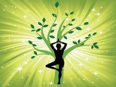 Woman in the yoga tree asana. Woman in yoga tree asana sport on wave background. man silhouette pose in front of leaves. element for design. Zen Meditation, Meditation Scripts, Meditation Pillow, Asana, Plexus Solaire, Les Chakras, Waves Background, Outdoor Yoga, Yoga Quotes