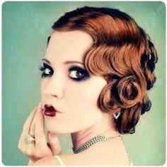 You can achieve a variety of retro hairstyles with pin curls without the damaging effects of heated styling products.