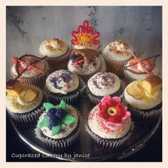 Hunger Games Cupcakes!!!!!!!!!!! Awesomeness!!!!!!!!!