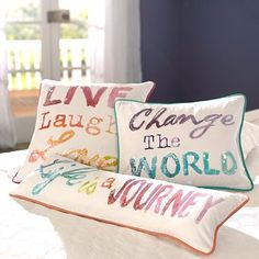 Inspire Me Pillow Cover #pbteen