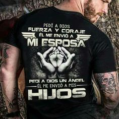 Dios siempre tiene el control Desire Quotes, Christian Shirts, Love You, My Love, Love Messages, Spanish Quotes, My Guardian Angel, My T Shirt, Cool Shirts