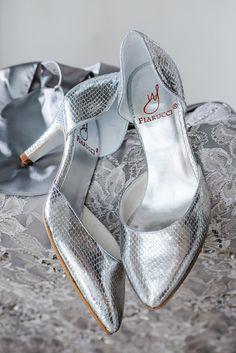 Zita Silver, Bridal Shoes -  Bruidsschoenen - Brautschuhe