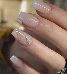 54 Beautiful and romantic nail art design ideas - mix-matched neutral nails, nud. - 54 Beautiful and romantic nail art design ideas – mix-matched neutral nails, nude nails ,nail acr - Gorgeous Nails, Pretty Nails, Cute Simple Nails, Perfect Nails, Coffin Nails Designs Summer, Acrylic Nail Designs Classy, Light Pink Nail Designs, Classy Acrylic Nails, French Manicure Designs