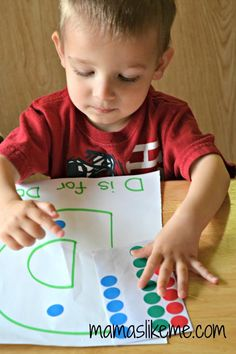 D is for Dots Preschool Letter Learning