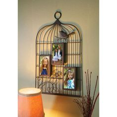 Birdcage-Three-Picture-Photo-Frame