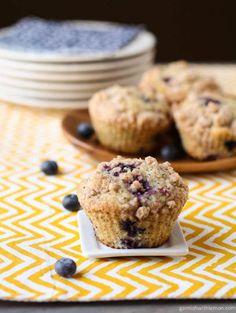 Lemon Blueberry Poppy Seed Muffins