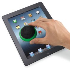 Dustin 2-in-1 Touchscreen Cleaning Cloth Kelly Green