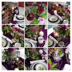 Floral Design, Table Settings, Table Decorations, Home Decor, Decoration Home, Room Decor, Floral Patterns, Place Settings, Home Interior Design